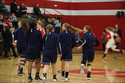 Varsity Girls' Basketball vs North Branch