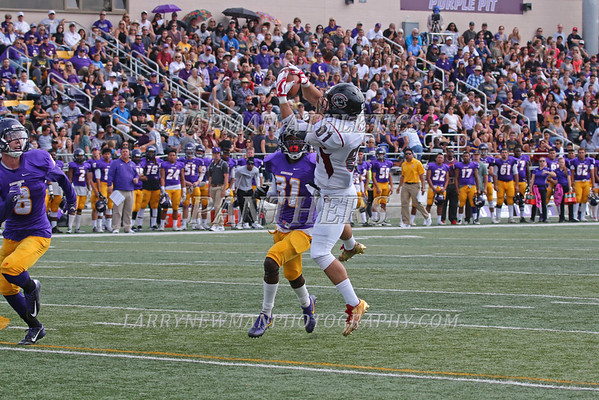 FOOTBALL vs. Cal Lutheran 10-29-16