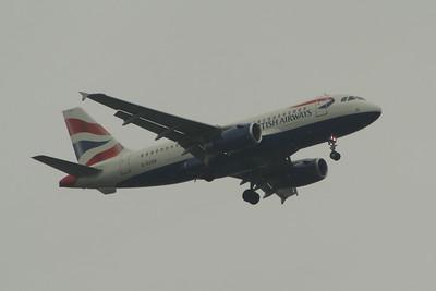 Airbus A319's of British Airways