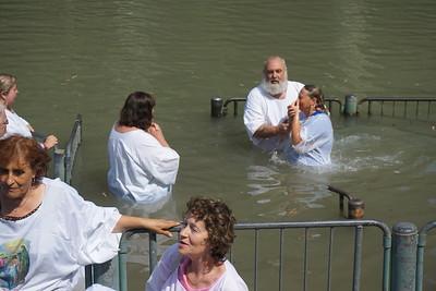 Baptism in Jordon 2018