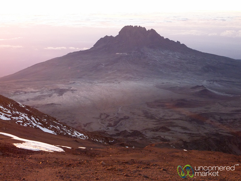 Views from Top of Mt. Kilimanjaro - Tanzania