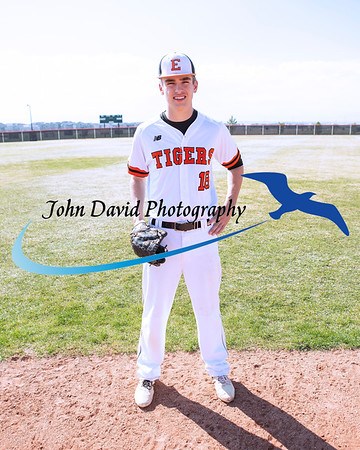 2019 EHS Baseball Individual Pictures