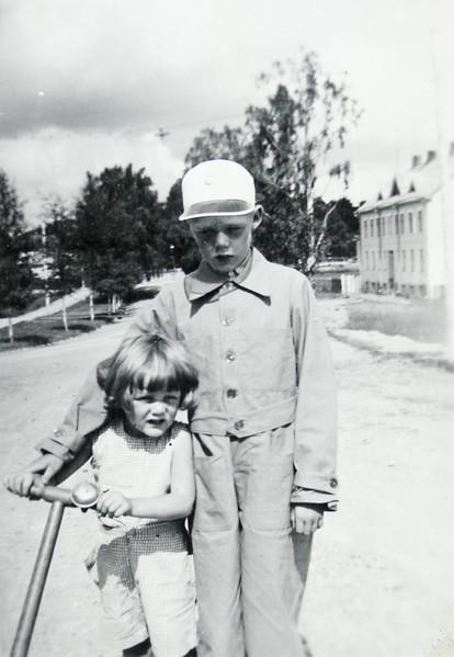 Georg Hayens fotoalbum från Ekenäs