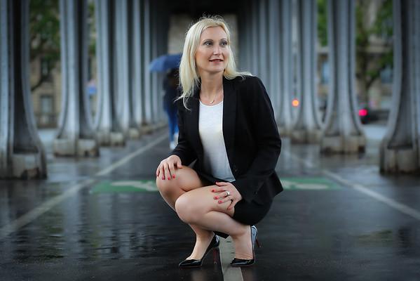 Fabienne Garnier, Un Jour de Juin 2019, Au Pont Bir Hakeim