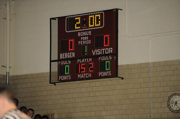 02-06-2009 HS Wrestling Paramus 21 at Bergen Catholic 37