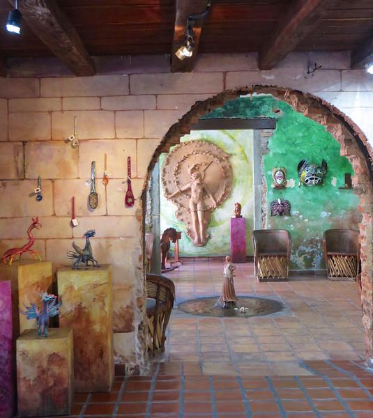 Art gallery - Mazatlan, Mexico