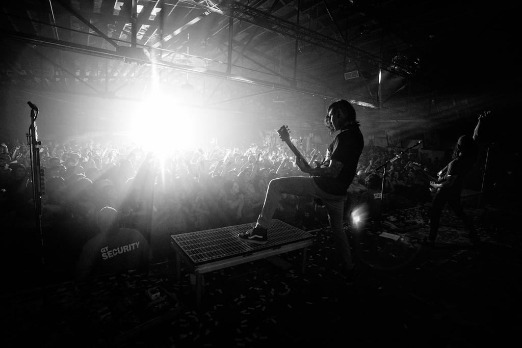 Pierce The Veil live at Cains Ballroom in Tulsa, Oklahoma