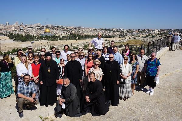 28 Елеон. Вид на Иерусалим. Суббота, 16 мая, 9:20