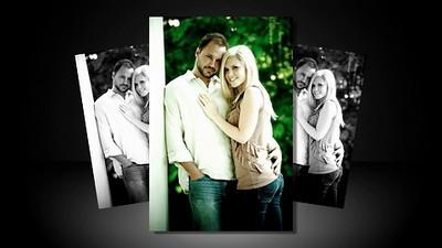 Leigh and Jonathan Engagement and Wedding Day