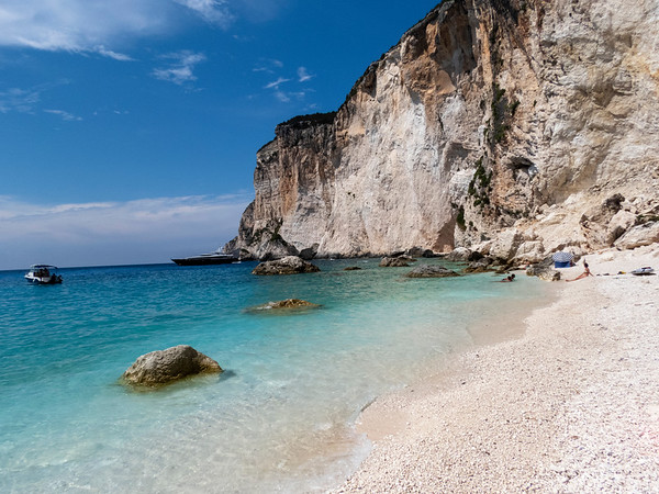 Lakka, Island of Paxi (Paxos), Greece