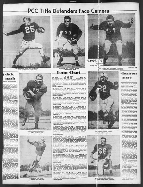 Daily Trojan, Vol. 39, No. 49, November 21, 1947