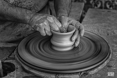 Las manos del alfarero / Pottery's hands