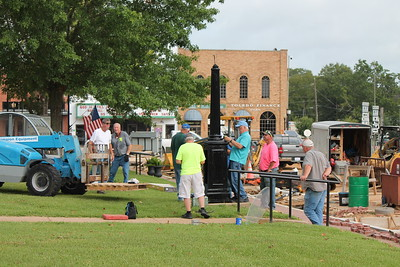 Historic Shelby County Clock renovated, reinstalled