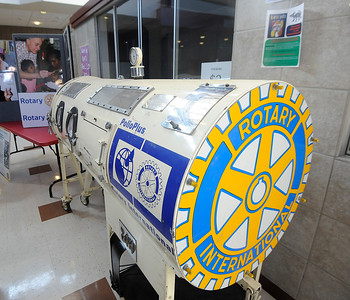 World Polio Day - Rotary Iron Lung 102418