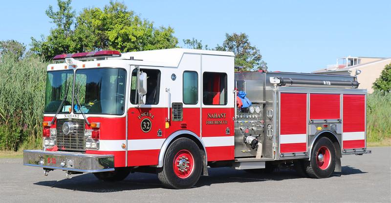 Engine 32.  2004 HME Silver Fox.  1500 / 750