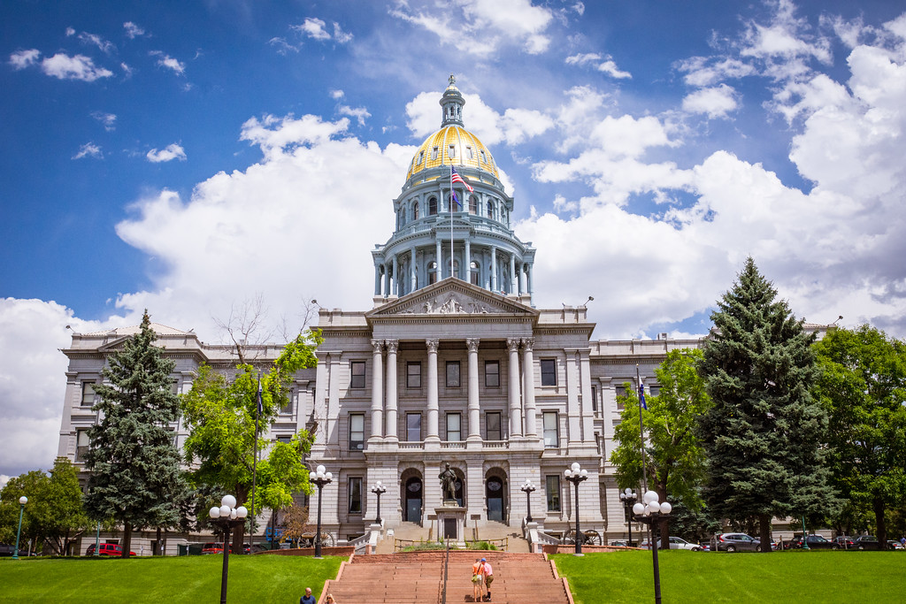 Colorado State Capital in Denver