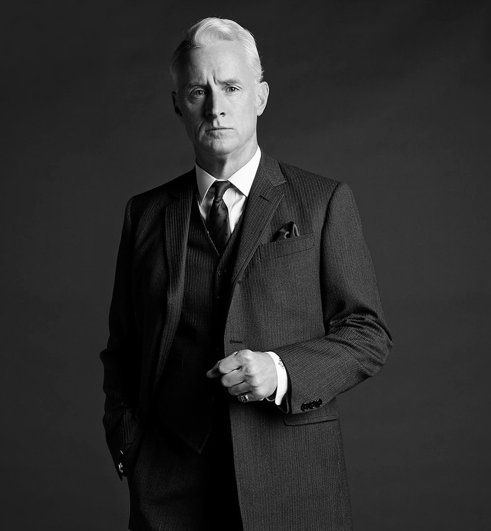 . Roger Sterling (John Slattery) - Mad Men - Season 6. (Photo by Frank Ockenfels/AMC)