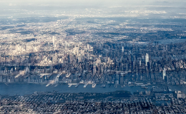 Metropolis from the air
