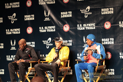 Press Conference - 2012 US Olympic Trials Marathon