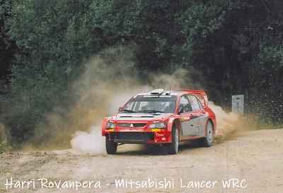 RAC Rally 2005 Crychan Forest