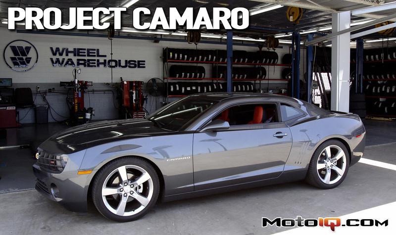 Project Chevrolet Camaro, whiteline, kw