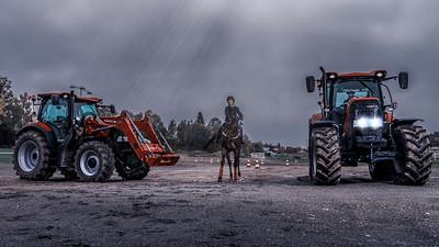 Traktor vs hest