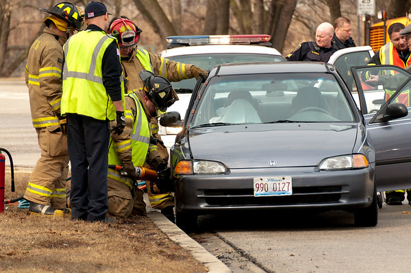 West Dundee Extrication Accident - March 4, 2011