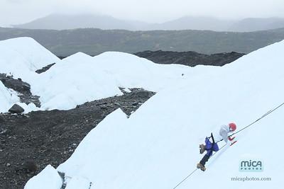 September 5 - Ice Climb with Brett and Katie