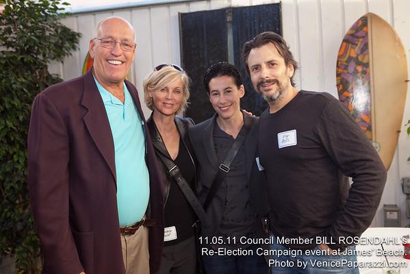 11.05.11 Bill Rosendahl Fundraiser
