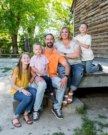 Clint Johnson family 2019