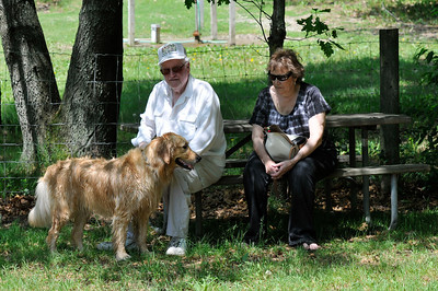 5/23/10 - Riley Explores the Orion Oaks Dog Park