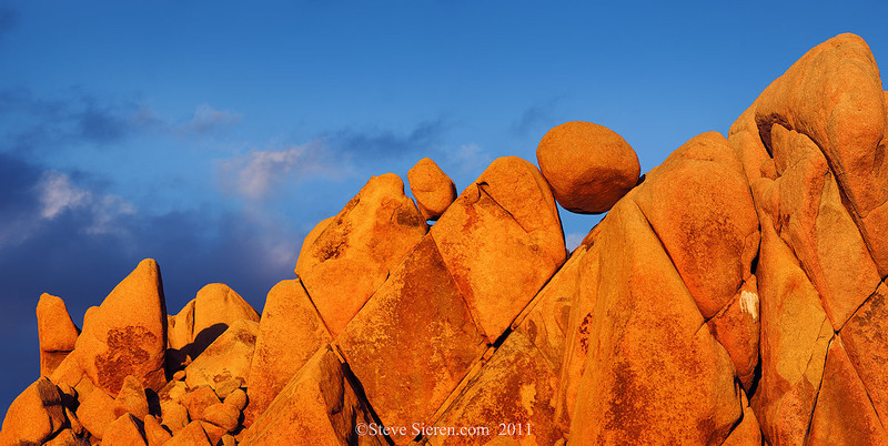 Geometrical Rocks at Joshua Tree National Park