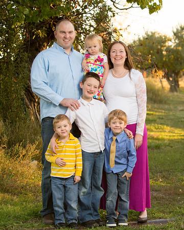Cox Family 2013