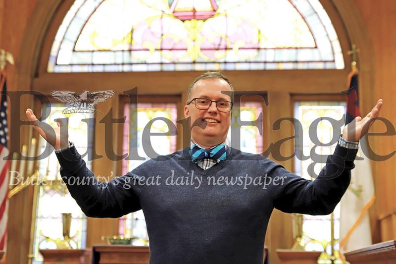 Rev. John Nelson is the new pastor at Park United Presbyterian Church in Zelineople. Seb Foltz/Butler Eagle