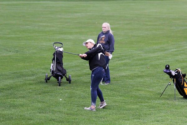 BH and Western Christian at Sibley-Ocheyedan girls' golf tournament 4-29-19