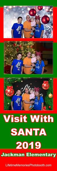Jackman Elementary Christmas with Santa 2019