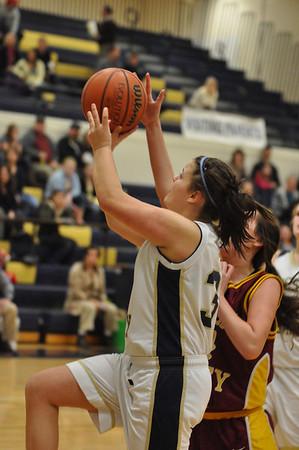 CV vs. WA frosh/JV/Varsity Girls Basketball gm 2