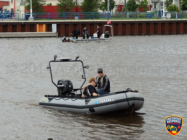 MABAS 113 Dive Team Training on July 15, 2014