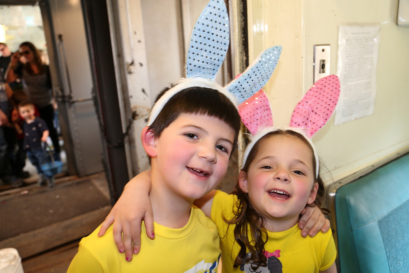 Easter Bunny Train Ride 4-13-14