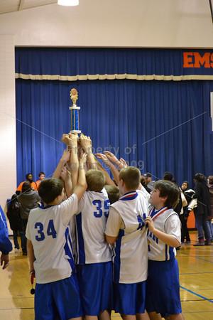 6th boys bball v freeport . champions! . 3.3.12
