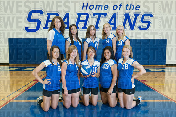 Hilhi JV Volleyball Team Photos 2011