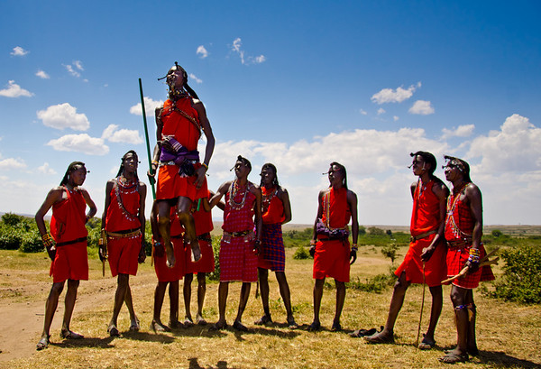 Safari 3: Maasai Village, Kenya