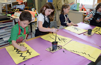 Chinese Sumi-E Painting With Ms Perna photos by Gary Baker