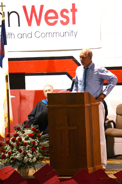 Lutheran West Graduation - Class of 2013  Commencement address by Steve Hagen, NFL Football Coach