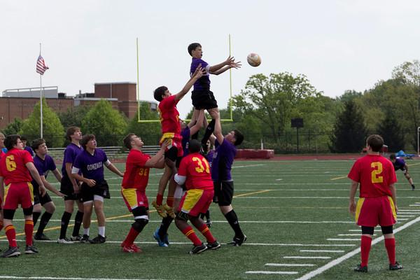 Freshmen vs. Calvert Hall 4-21-12