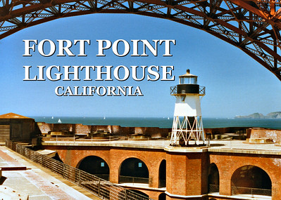 Fort Point Lighthouse, California
