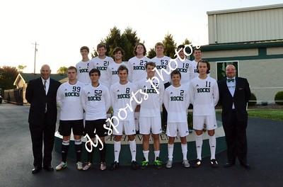 Trinity Boys Soccer Senior Night