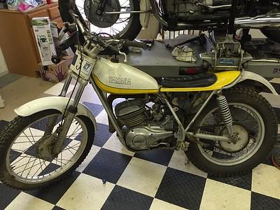 Vintage Trials Bikes