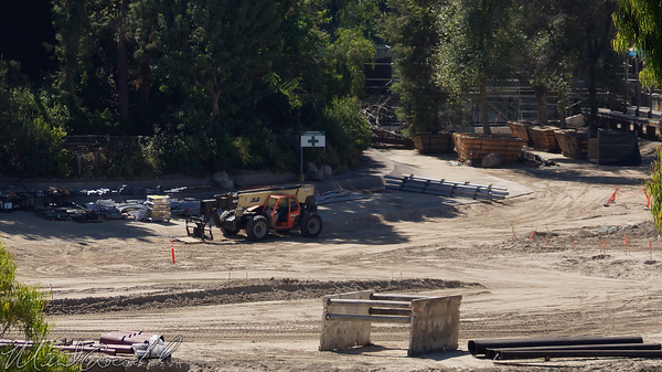 Disneyland Resort, Disneyland, Frontierland, Critter Country, Star Wars Land, Star, Wars, Land, Construction, Rivers, River, America, Mickey, Friends, Parking, Structure