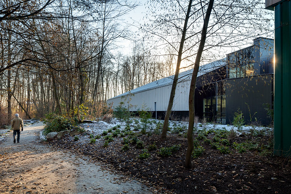 Grant Connell / North Vancouver Tennis Centre - Winter Exterior Images